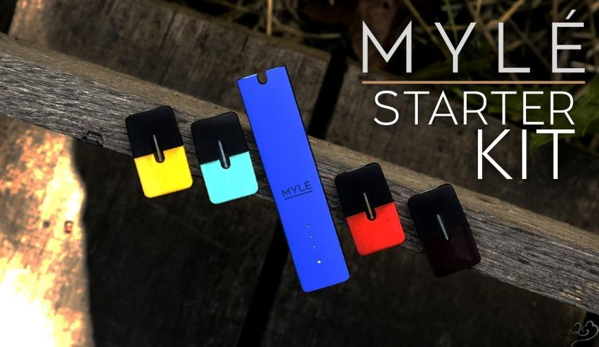 MYLÉ - Nicotine Salt Starter Kit