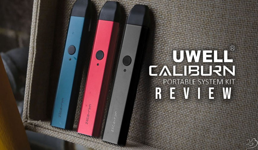 Uwell Caliburn Review: The New Innovative Pod System